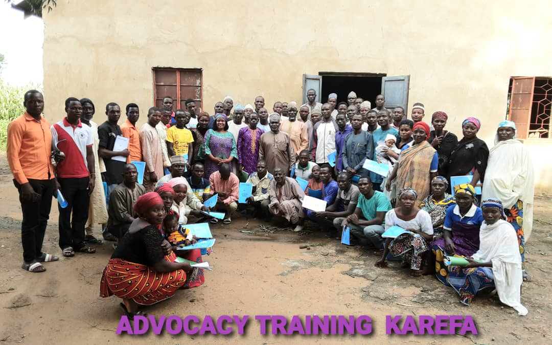 Fundamental Human Rights Awareness and Advocacy Training in Karefa Kano State. On 15th September 2020