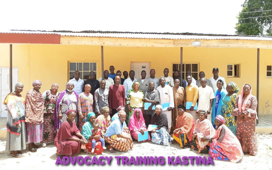 Advocacy Training in Kastina on the 21st September 2020