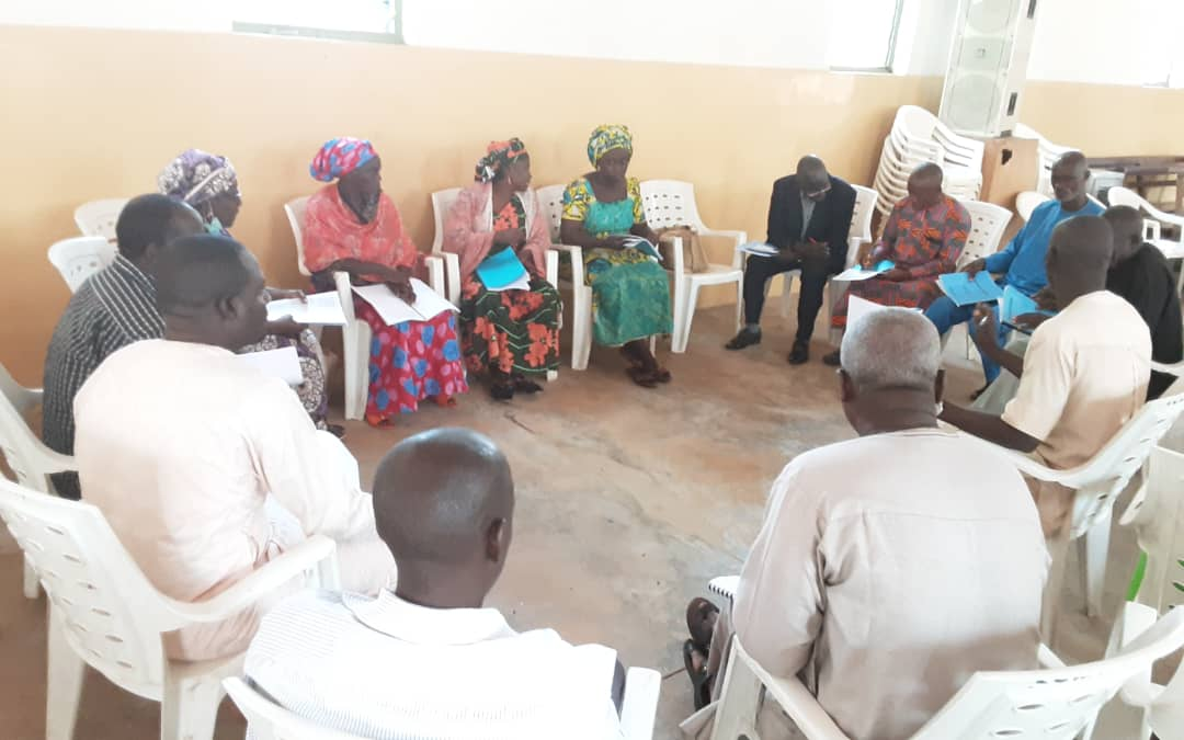 Advocacy Training Group Discussion in Kastina on the 23rd September 2020