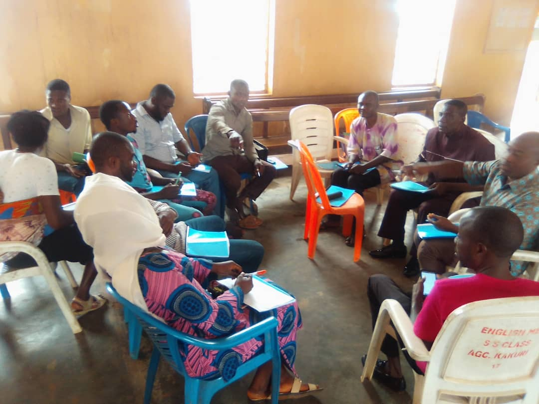 Advocacy Training group discussion in Kaduna on the 1st September 2020