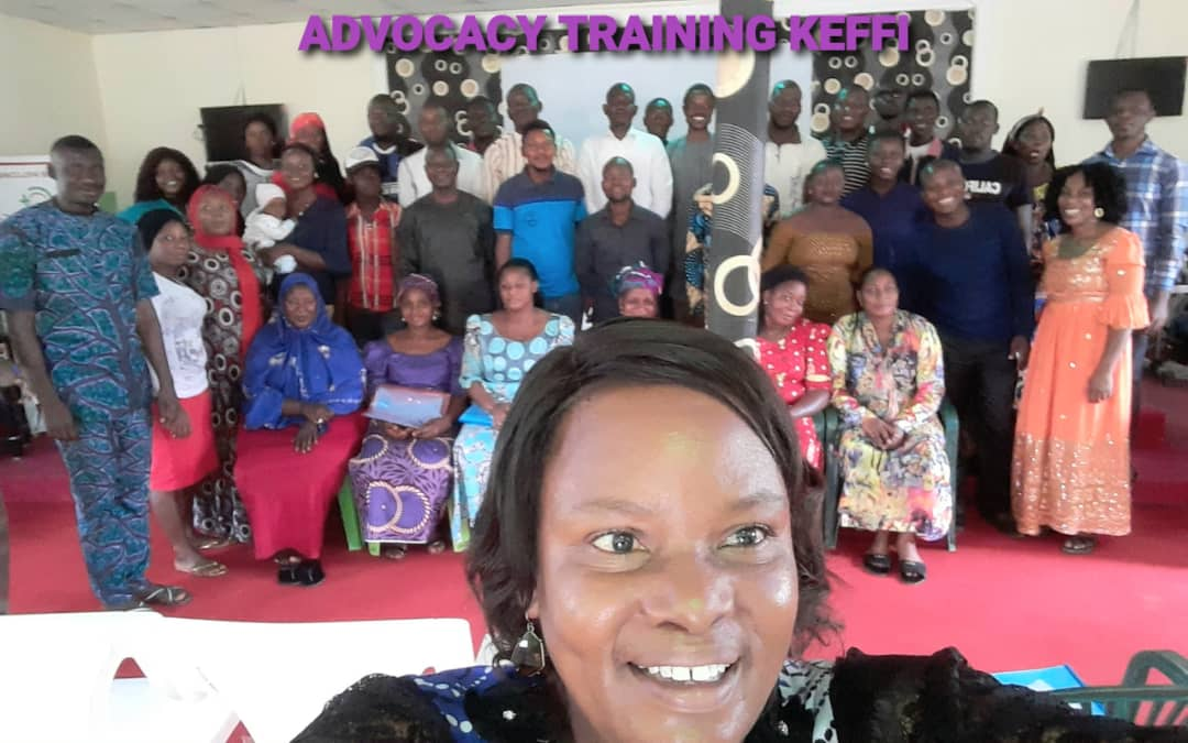 Advocacy Training in Keffi on the 28th September 2020