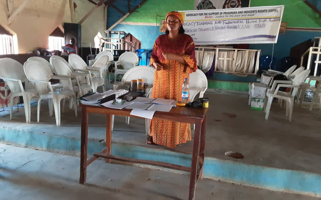 Fundamental Human Rights Awareness and Advocacy Training in Rogo Kano State on the 15th September 2020